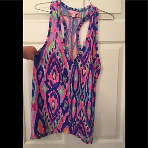 Lilly Pulitzer tank top - size Large